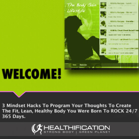 How To Program Your Thoughts To Create The Fit, Lean, Healthy Body You Were Born To ROCK 24/7 365 Days.