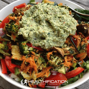 Low Carb Vegan Meal Plan Huge Salad