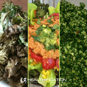 Low Carb Vegan Meal Plan Kale Collage