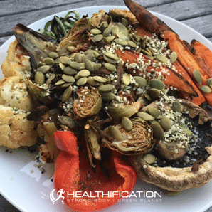 Low Carb Vegan Meal Plan Roast Veg