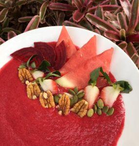 7 Day Easy Vegan Plan Breakfast: pink minx