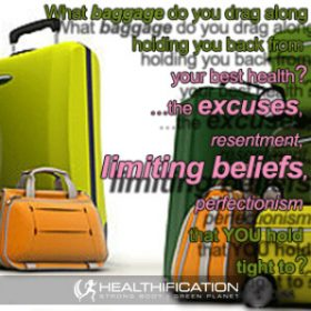 Stow your baggage for weight loss take-off!