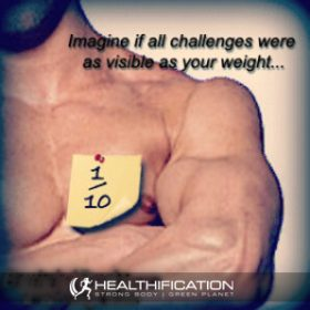 Does having your challenge so painfully visible, help with fat loss?