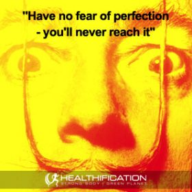 Perfectionism and weight loss overwhelm.