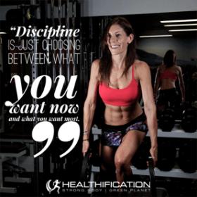 Weight loss discipline.