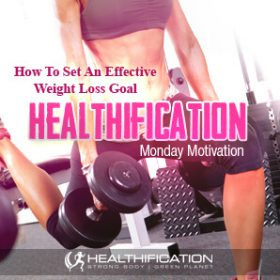 How To Set An Effective Weight Loss Goal