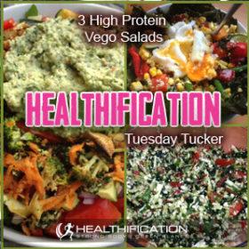High Protein Vego Salads