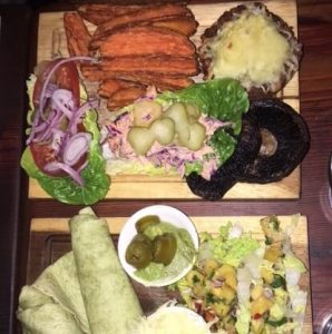 Tips for healthy plant based eating when eating out