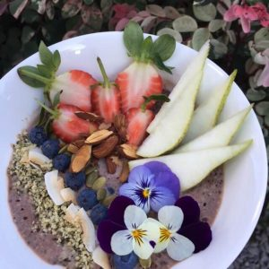 7 Day Easy Vegan Plan Breakfast: chia pudding