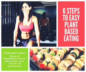 Healthy Vegan Lifestyle Podcast: 6 Steps To Easy Plant Based Eating