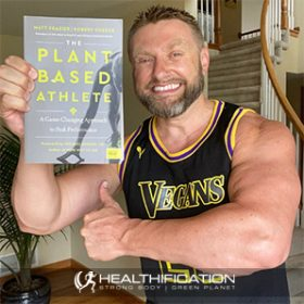 Gaining 100 Pounds Of Vegan Muscle with Vegan Bodybuilder Robert Cheeke