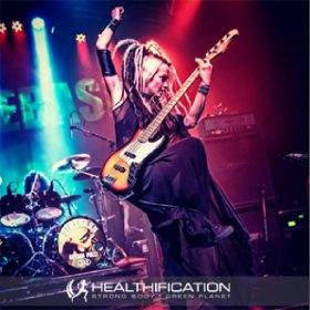 Touring Bassist Tanya O'Callaghan is Rocking a Highway to Health