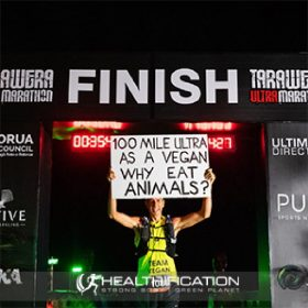 Josh Howell is a Vegan Ultra Athlete For The Animals.